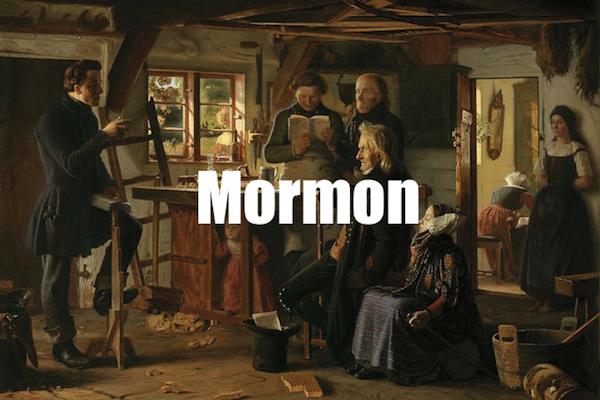 50 words for 50 states, utah mormon