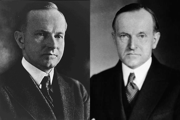US presidents before and after term, calvin coolidge