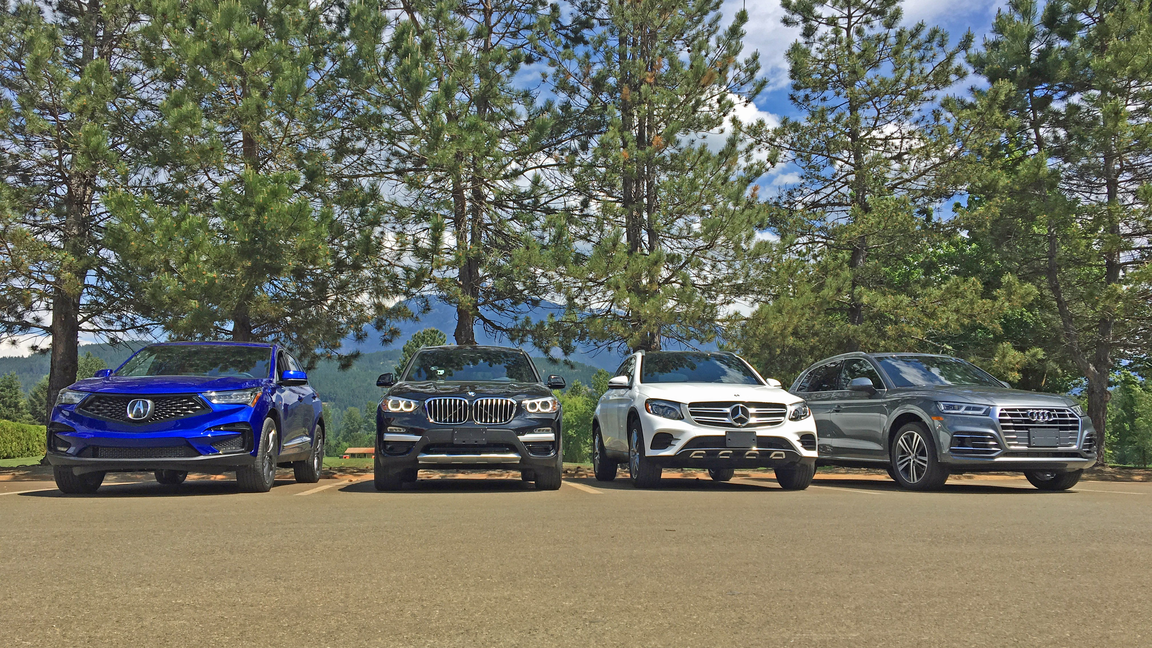 Beliebt Bevorzugt Comparison test: Acura RDX vs. Audi Q5, BMW X3, Mercedes-Benz &HP_51
