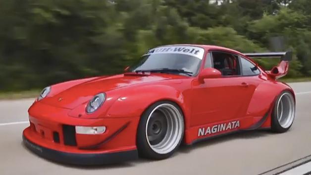 Porsche 911 father-son project