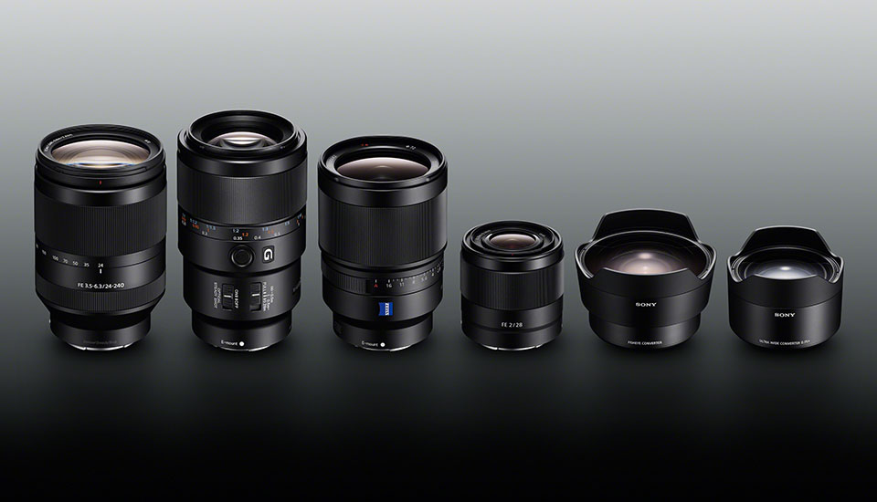 Sony Unveils Four Much Needed Lenses For The Full Frame A7