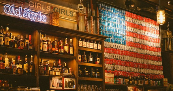 life hacks for assholes, life hacks for a-holes, rustic bar american flag