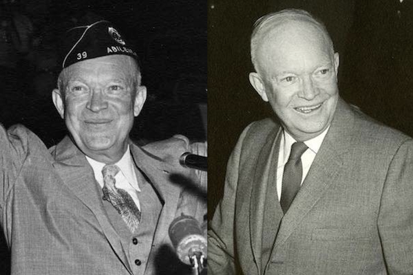 US presidents before and after term, dwight d eisenhower