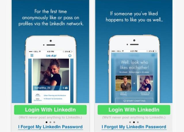 Dating via linkedin