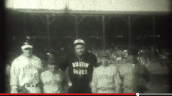 戦前日系人チームと全盛期のベイブ・ルースが試合をした幻の映像が公開される
