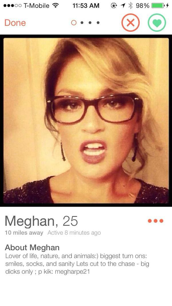 Funny womens dating profiles