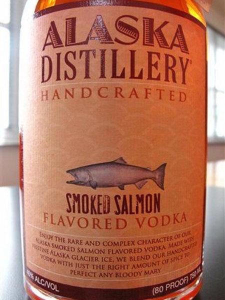 worst consumer product flavors, smoked salmon alaska distillery vodka