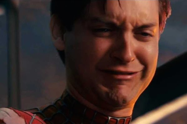 tobey maguire crying meme - photo #4