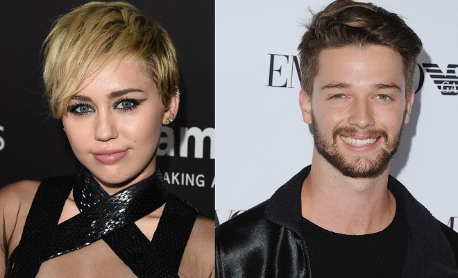 patrick schwarzenegger and miley cyrus relationship with parents