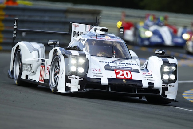 official: porsche hybrids come up short at le mans