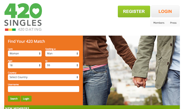 What is 420 on dating sites