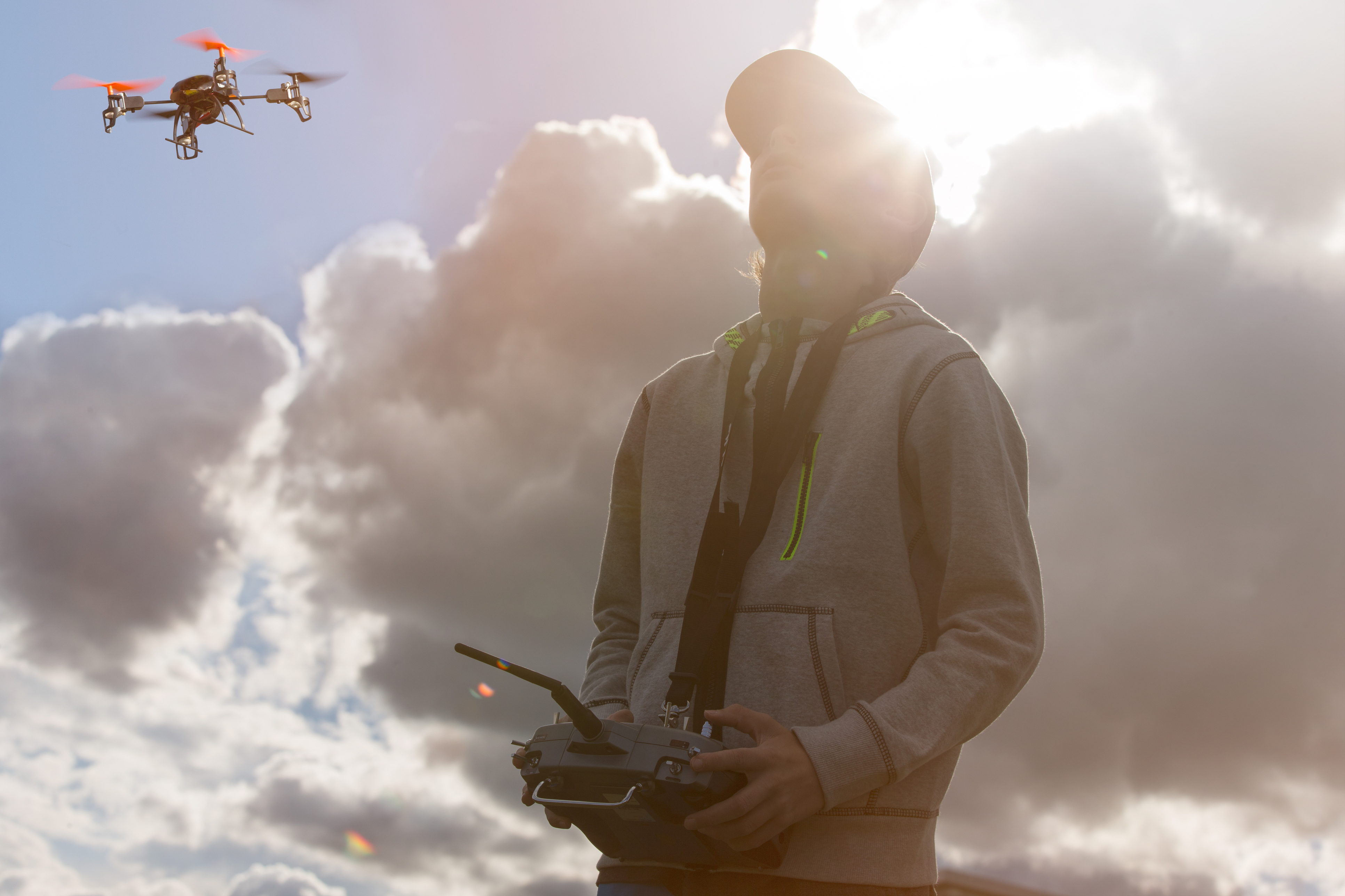 If you want to train as a drone pilot, it costs less than $3000 and a five day course