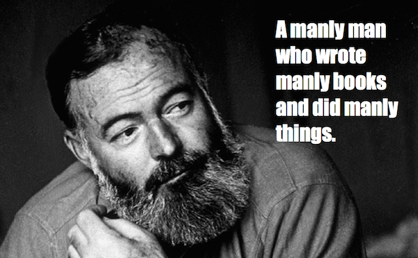 one-line summaries famous historical figures, ernest hemingway