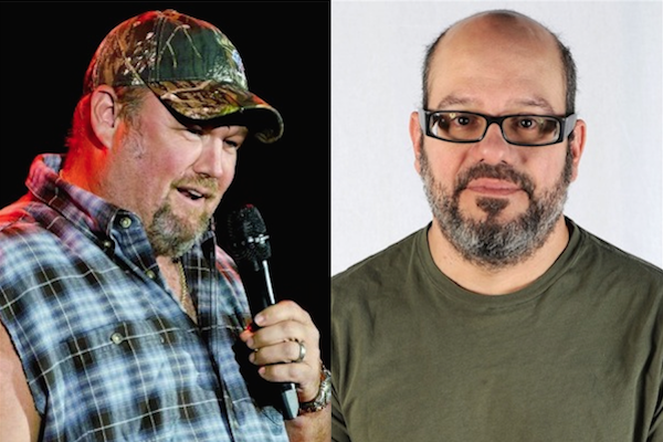 comedians feud showdown, larry the cable guy david cross