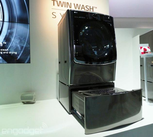 oben bunt unten wei lg verk ndet trend zur doppelwaschmaschine engadget deutschland. Black Bedroom Furniture Sets. Home Design Ideas