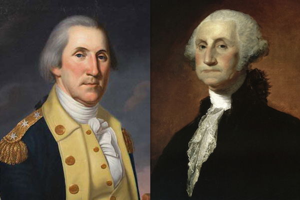US presidents before and after term, george washington
