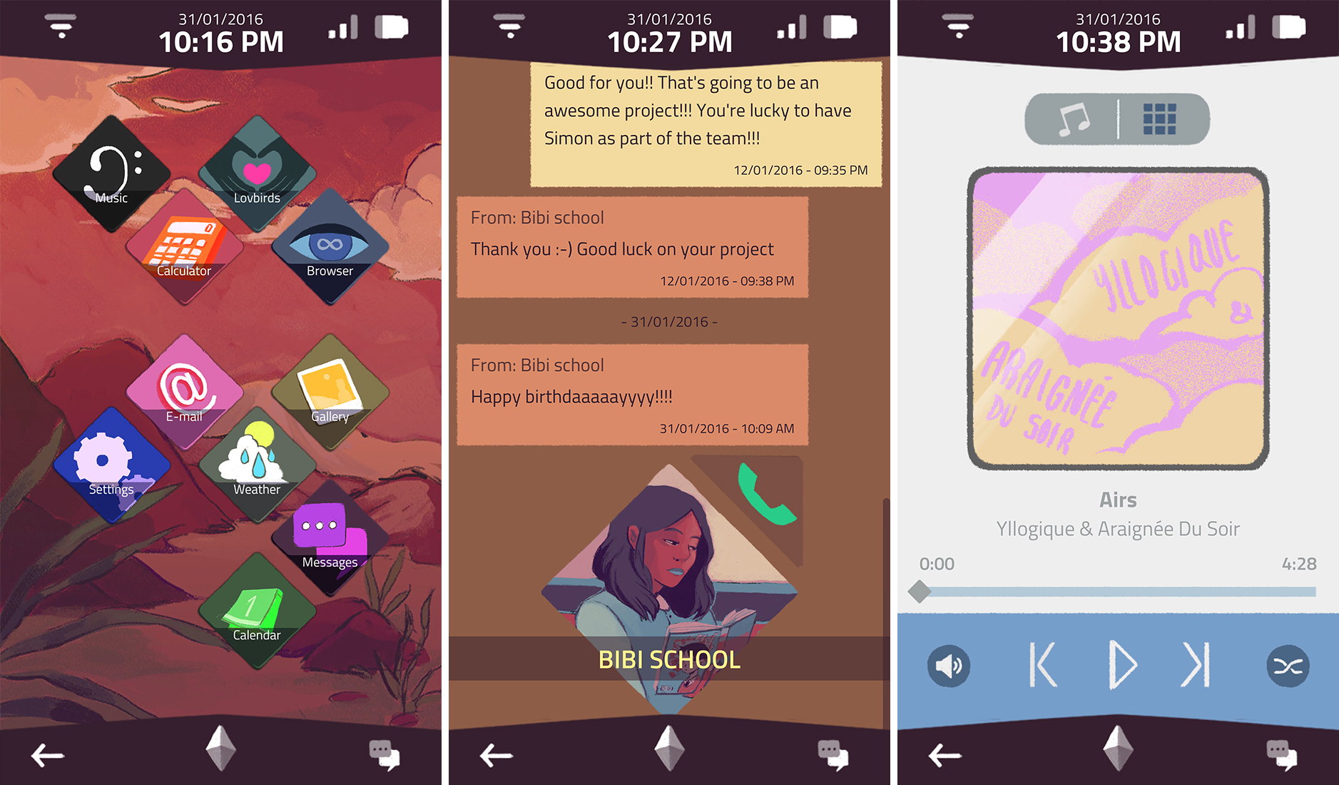 A Normal Lost Phone' is a game set entirely inside a