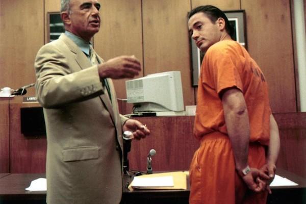 celebrities in jail, robert downey jr