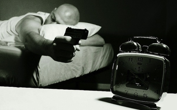 things that suck about being an adult, 10 things that suck about adulthood you never noticed as a kid, gun alarm clock