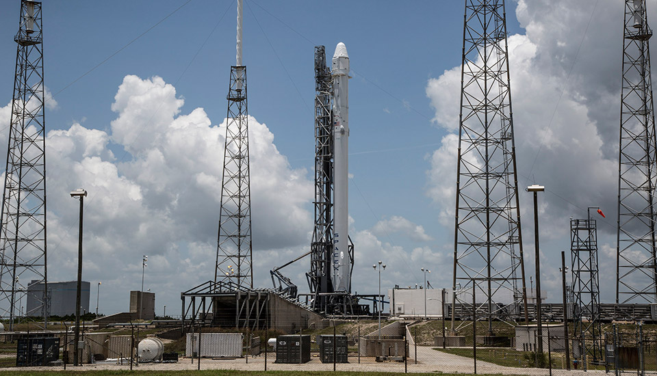 SpaceX Falcon 9 rocket explosion caused by faulty strut