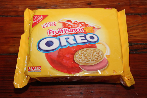 worst consumer product flavors, fruit punch oreo cookies