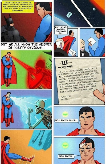 superheroes being aholes, batman v superman