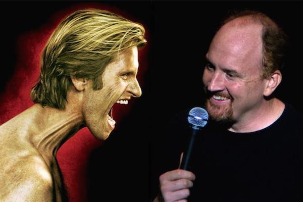 comedians feud showdown, denis leary louis ck