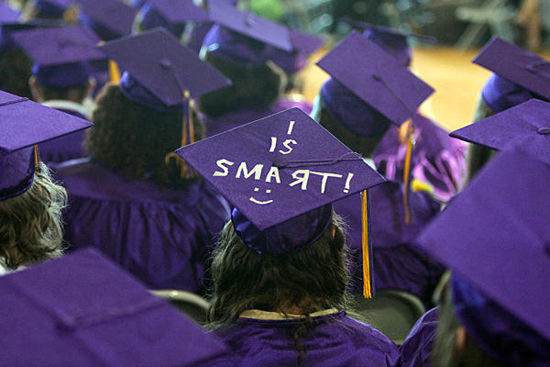 These Modified Graduation Caps Are Funny Because They're