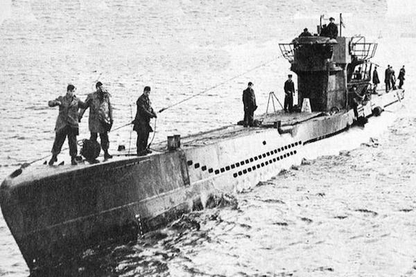 deadly toilet encounters, nazi german submarine u-1206