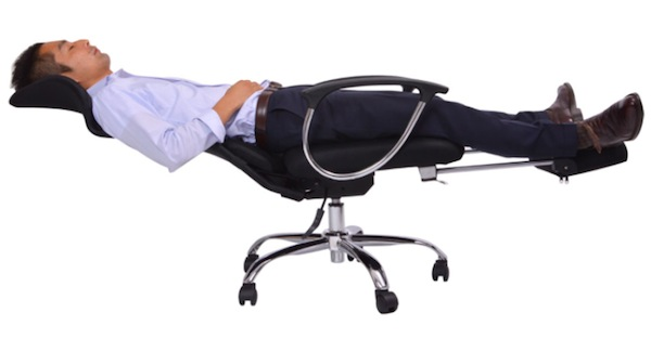consumer products we're surprised aren't more popular, funny consumer products, awesome consumer products, reclining office chair