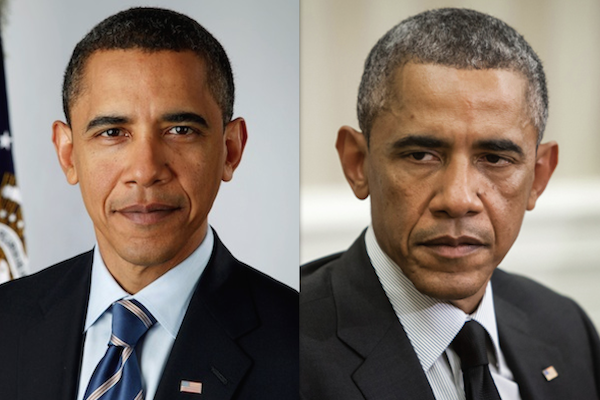 US presidents before and after term, barack obama