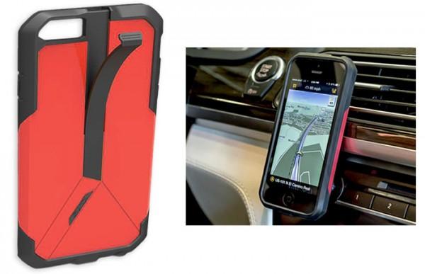 praktisch iphone case mit integrierter autohalterung. Black Bedroom Furniture Sets. Home Design Ideas