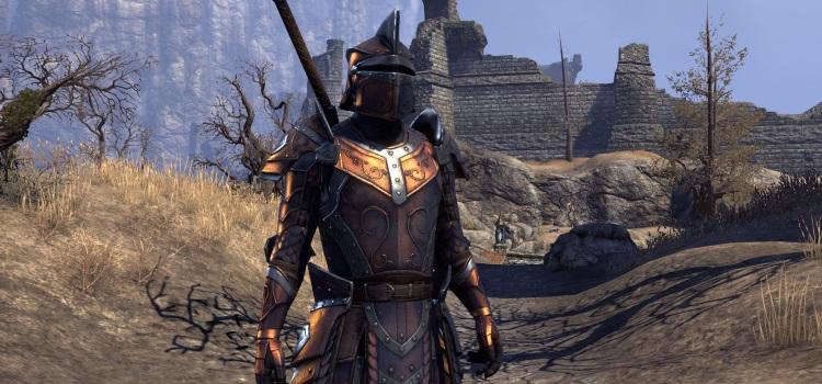 Massivelycom Lets All Dye Our Armor Black In The Elder Scrolls Online