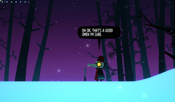 play through a spoiler free night in the woods ghost story joystiq. Black Bedroom Furniture Sets. Home Design Ideas