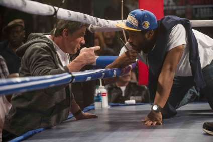 "Rocky的新篇章""继承Creed冠军的男人""的新导演为Rocky粉丝Stallone赢得了太多赞誉!"