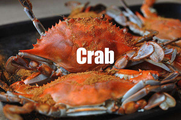 50 words for 50 states, maryland crab
