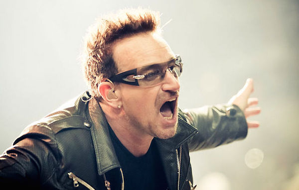 most notoriously terrible lead singers, worst lead singers, bono u2