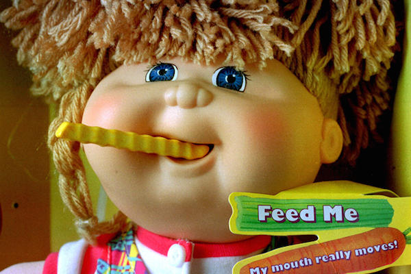 dangerous recalled toys, cabbage patch kids snacktime kid
