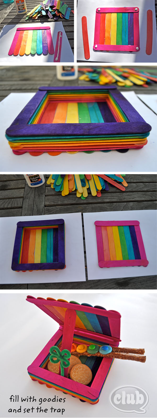 popsicle stick box instructions