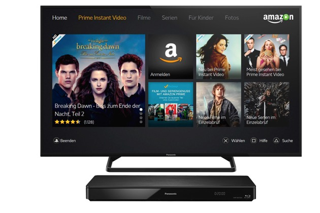 amazon instant video f r aktuelle panasonic fernseher und. Black Bedroom Furniture Sets. Home Design Ideas