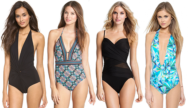 Do You Dare with a One-Piece? Change Your Look on The Beach