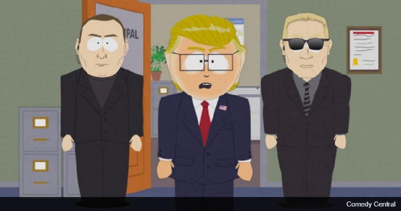 """""""南方公园""""的制片人去了特朗普总统! """"现实太有趣了,不能失去"""""""