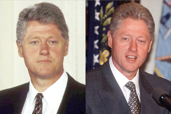 US presidents before and after term, bill clinton