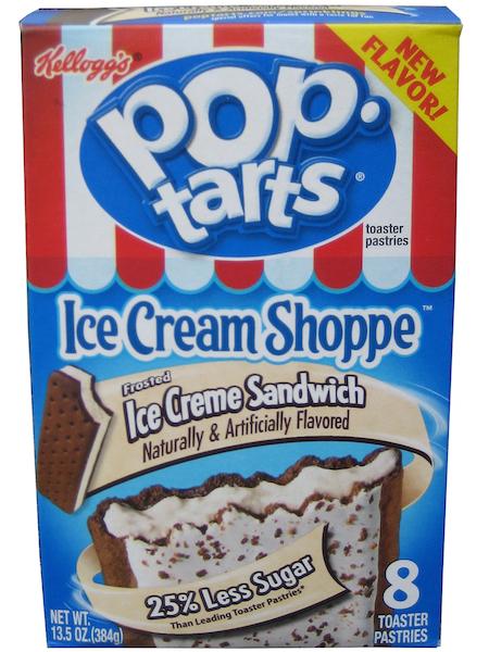worst consumer product flavors, ice creme sandwich pop-tarts