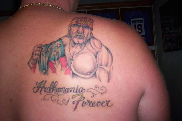 worst tattoos of celebrities, hulk hogan