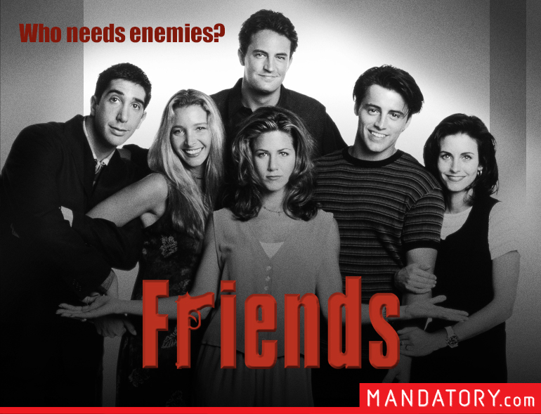 DARK REBOOT POSTERS FOR 8 BELOVED '90S SITCOMS | Chaostrophic
