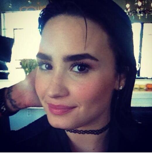 Demi Lovato and Joe Jonas Share a Moment Over Bushy ...