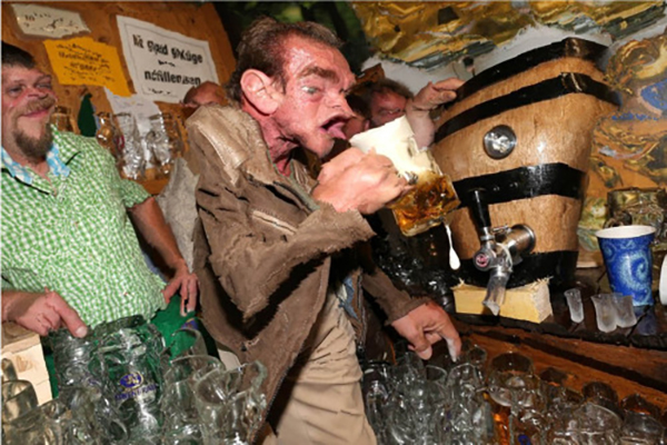 Funny beer drinking pictures