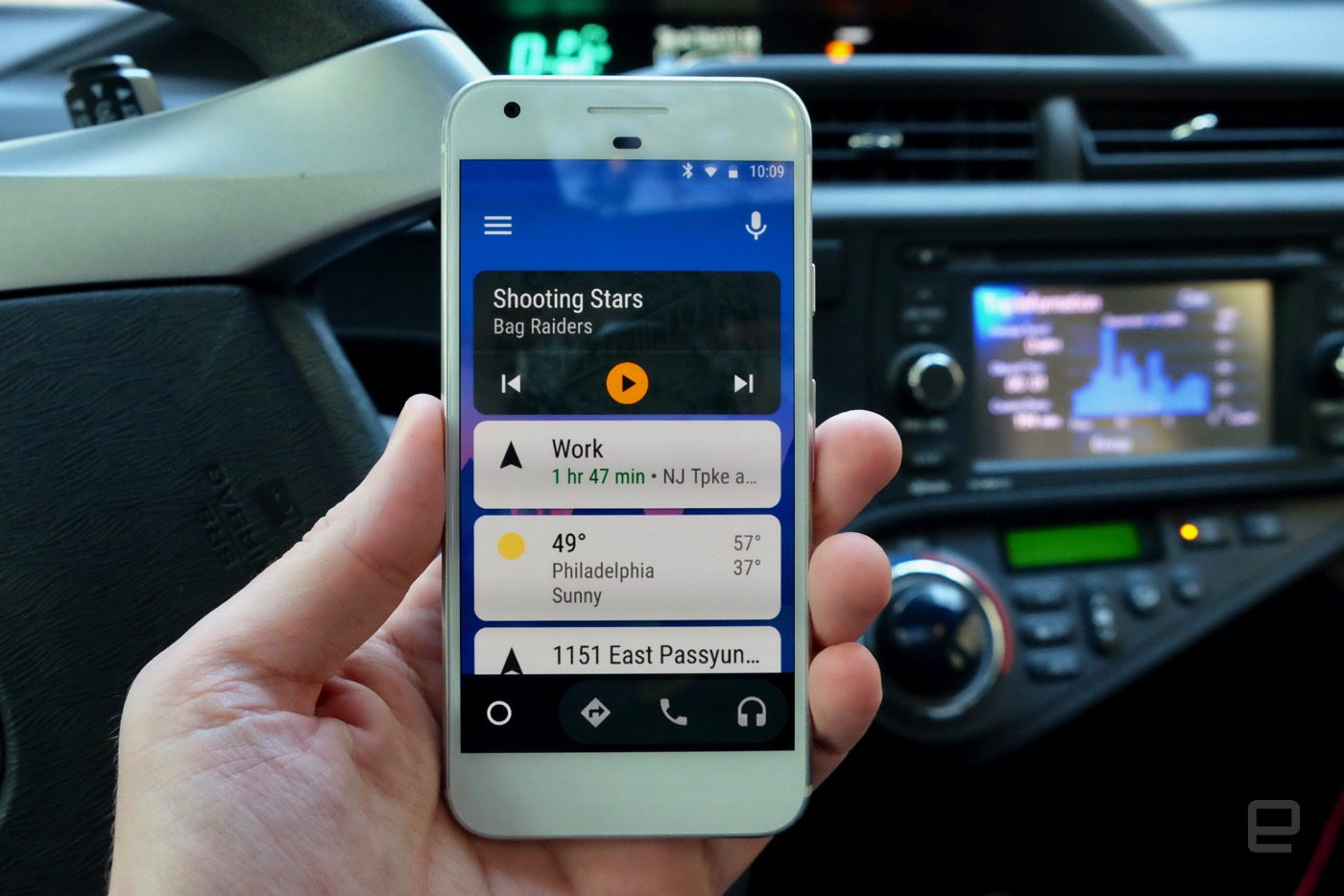 android auto engadget. Black Bedroom Furniture Sets. Home Design Ideas