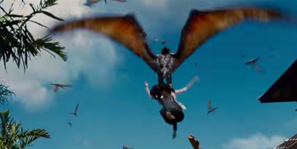 """杀死谋杀恐龙的地狱!恐惧主题公园""""侏罗纪世界""""整个画面透露!"""